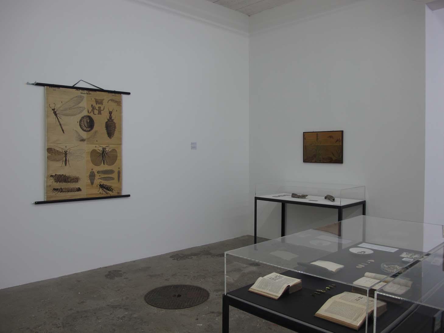 Un coin de l'exposition